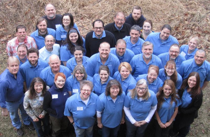 2014 Watershed Leadership Academy participants.