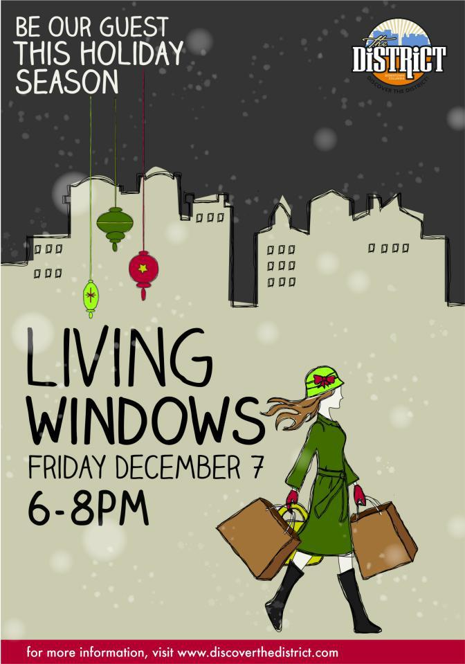 Living Windows Friday December 7th 6-8 pm