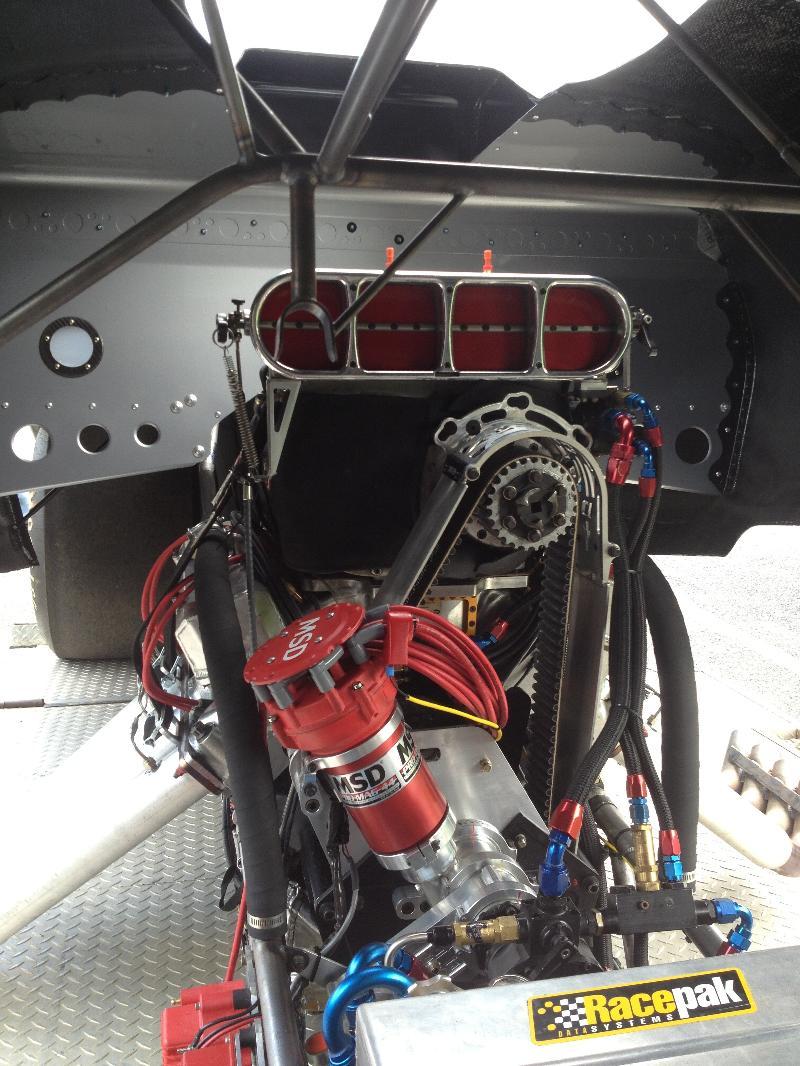 Steve Dale 69 GTO FC engine