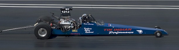 TIP's original Pontiac powered dragster
