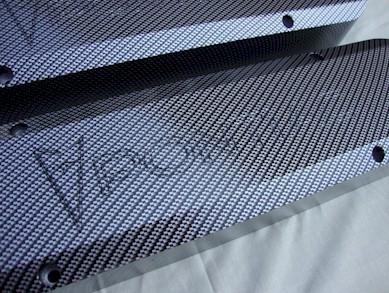 Light Carbon Engraved top