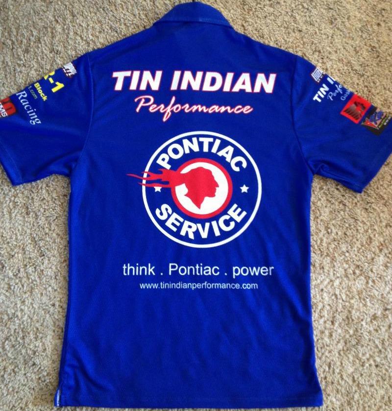 NEW TIP team shirt back