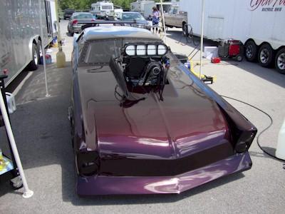 Bill Mellott's Pro Mod 65 GTO front shot