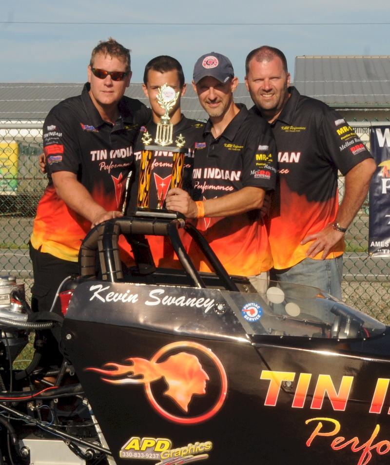 Winners circle with team 2012