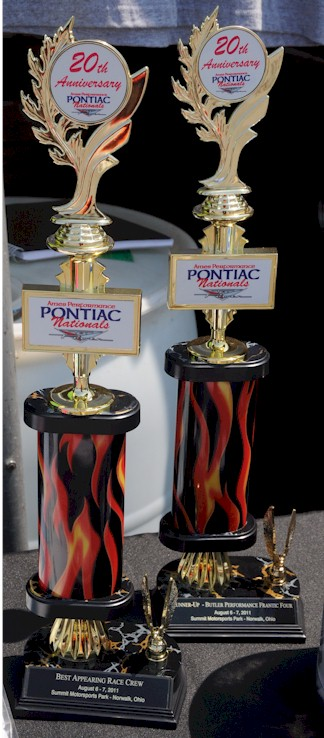 Best appearing crew trophy