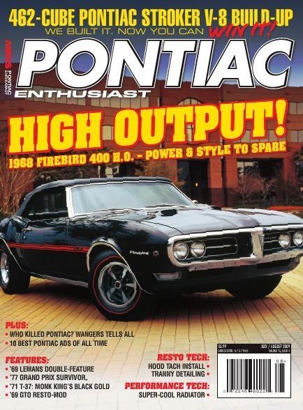 Pontiac Enthusiast Cover