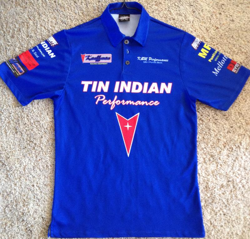 New official TIP team shirt front