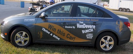 Hoban Car Raffle - Chevy Cruze