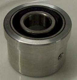 HTR's Billet Bearing Assembly top view