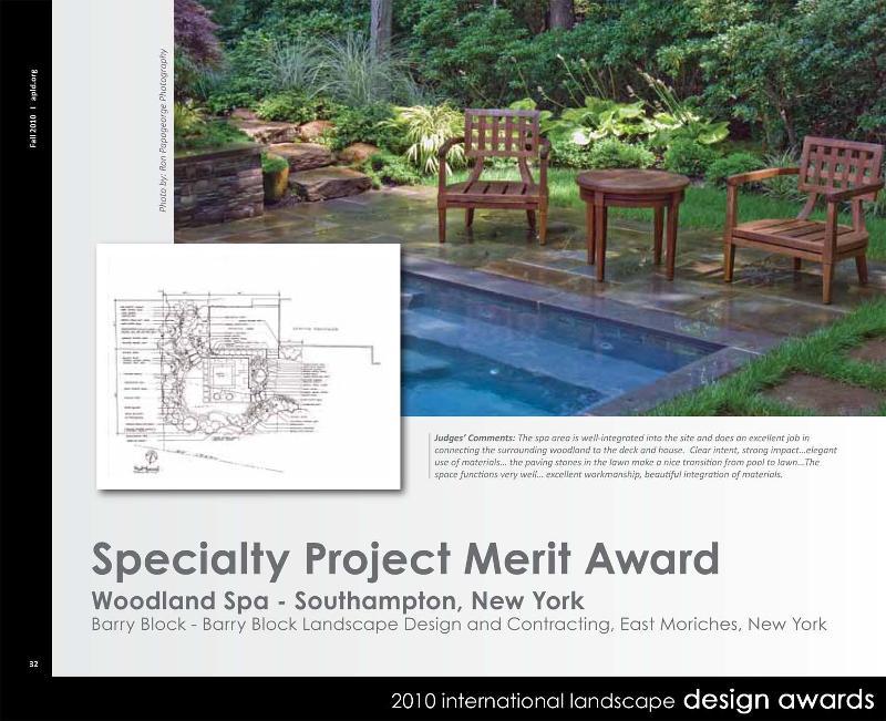 Specialty Merit Award