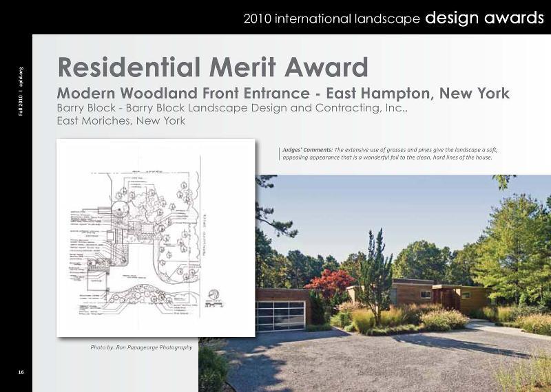 Residential Merit Award
