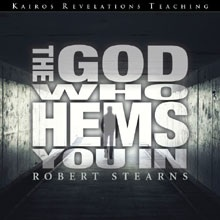 God Who Hems You In Teaching CD Cover