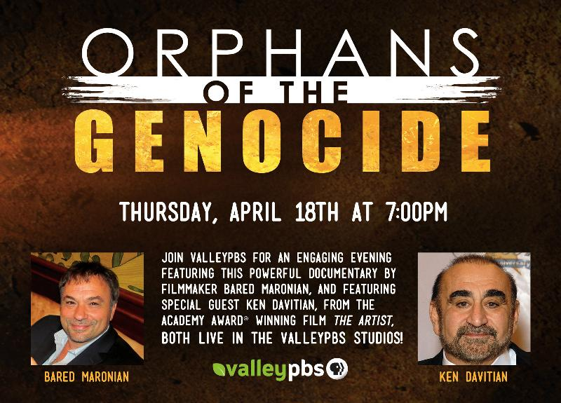 Orphans of the Genocide flyer
