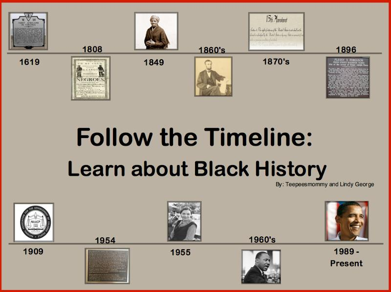 Black History Month Timeline | newhairstylesformen2014.com