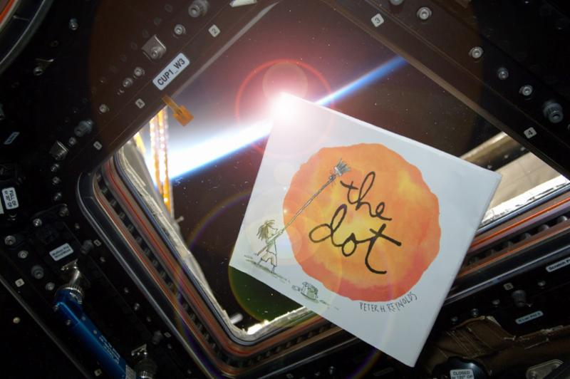 Photo of The Dot Book in Outer Space