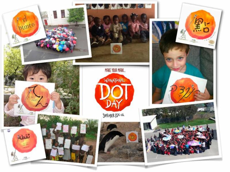 Dot Day Collage