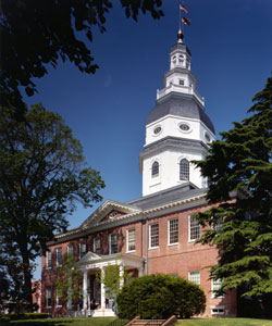 Maryland's Statehouse, Annapolis