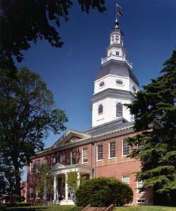Maryland's Statehouse, Annapolis