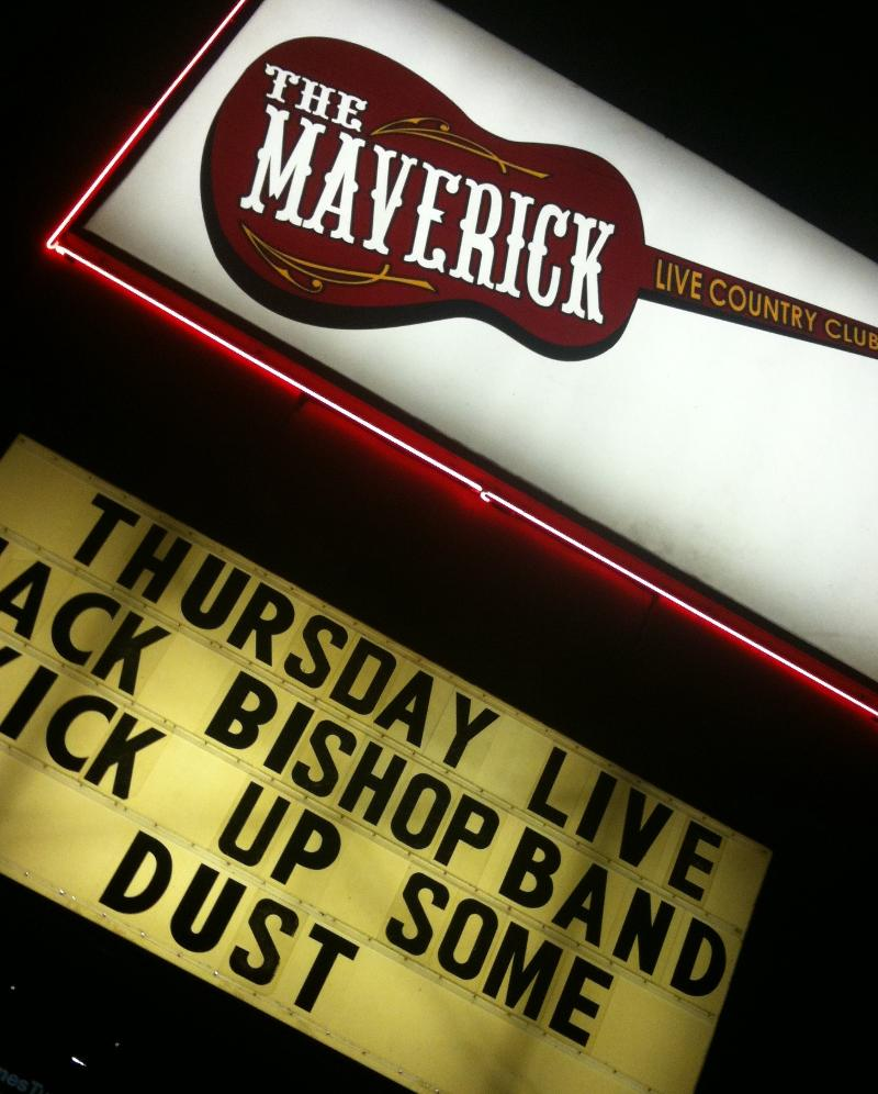 For Live Country Music in Tucson, AZ Go To The Maverick's
