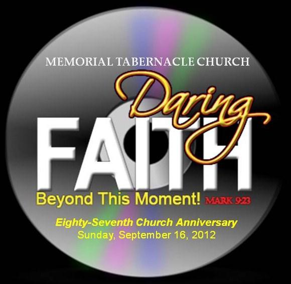 Eighty seventh church anniversary sermon cds