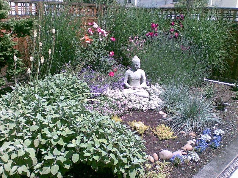 Kitchen Garden Buddha