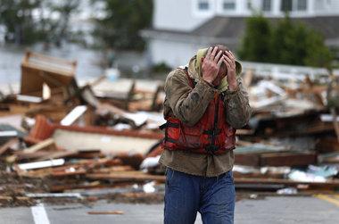 Hurricane Sandy victim