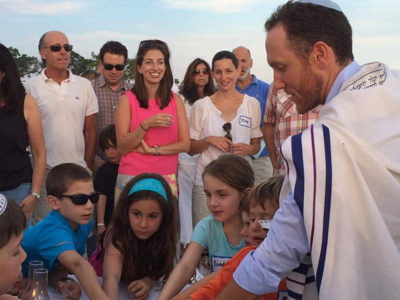 Shabbat on the beach picture