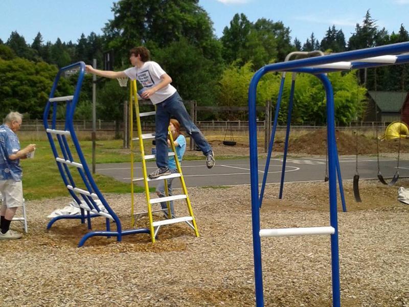 playground painting