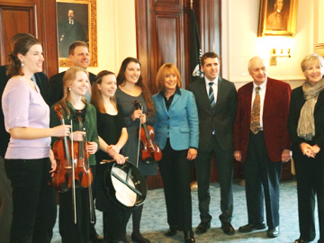 Inaugural Photo with Trilogy and Gov. Hassan