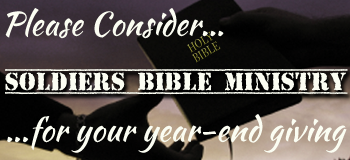 Consider Soldiers Bible Ministry for Year-End Giving