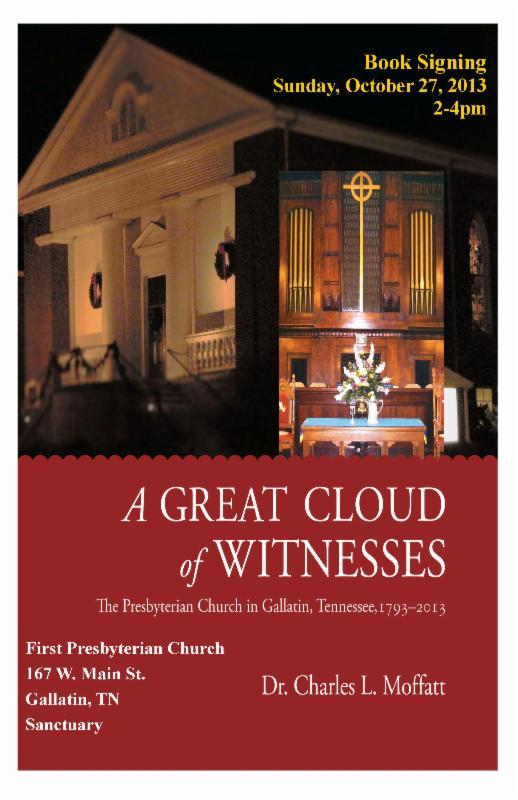 In The Santuary Of First Presbyterian Church Gallatin TN