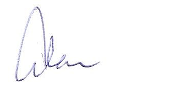 Alan's Signature