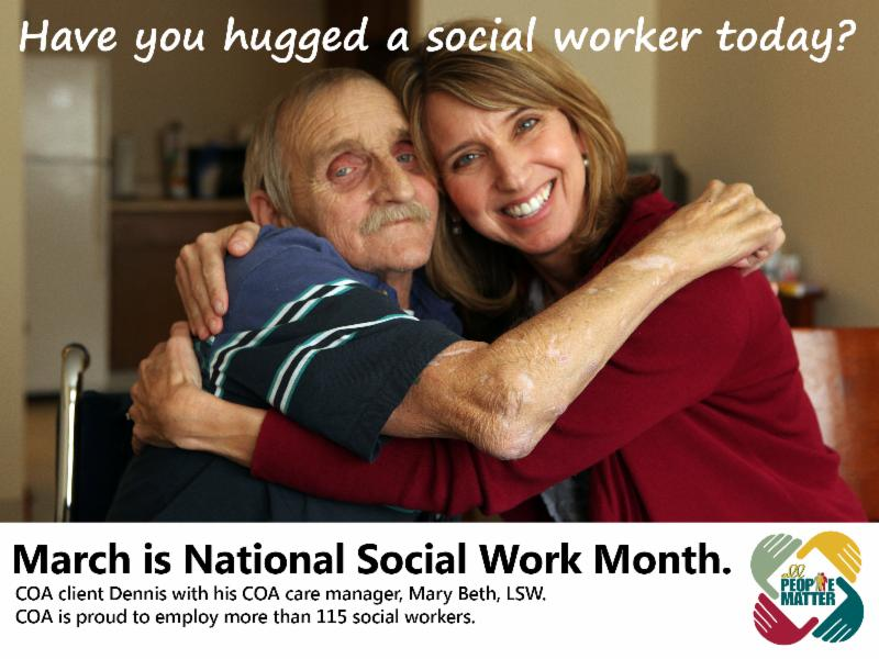 Socail worker month