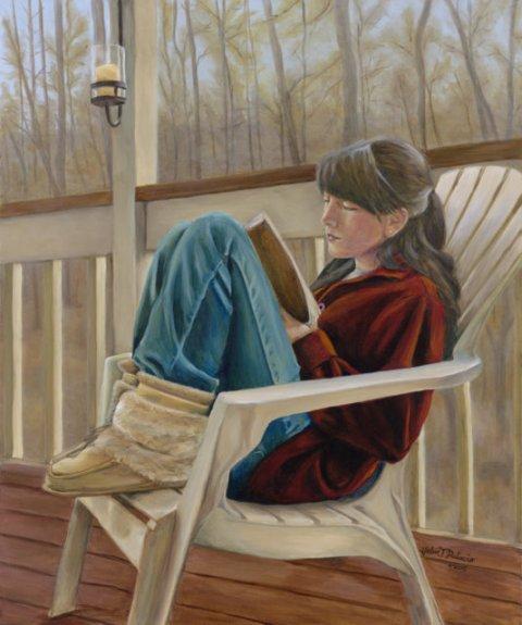 Helen Palacia Girl Reading