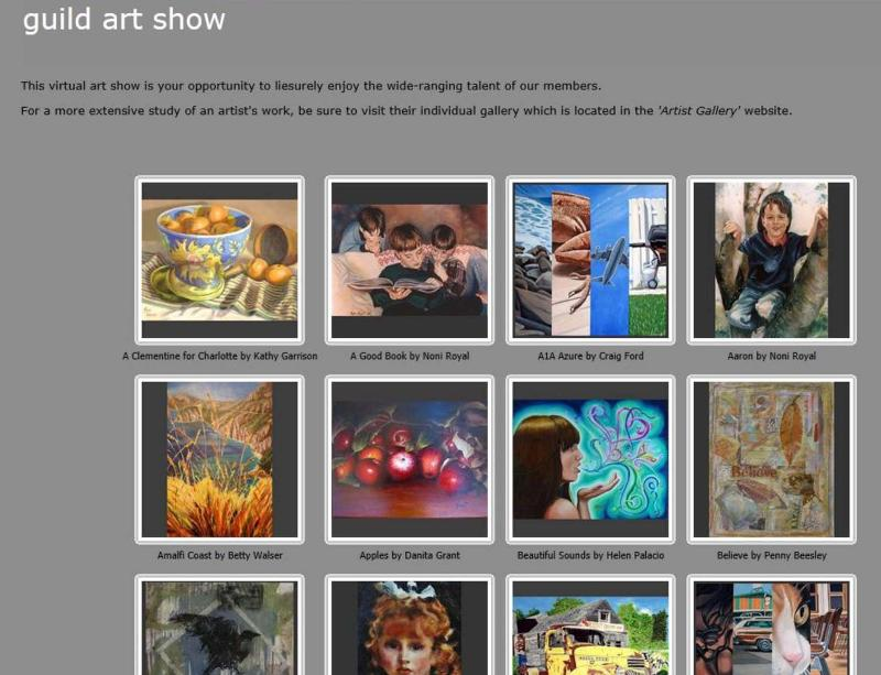 Snapshot of the AAG Web Gallery
