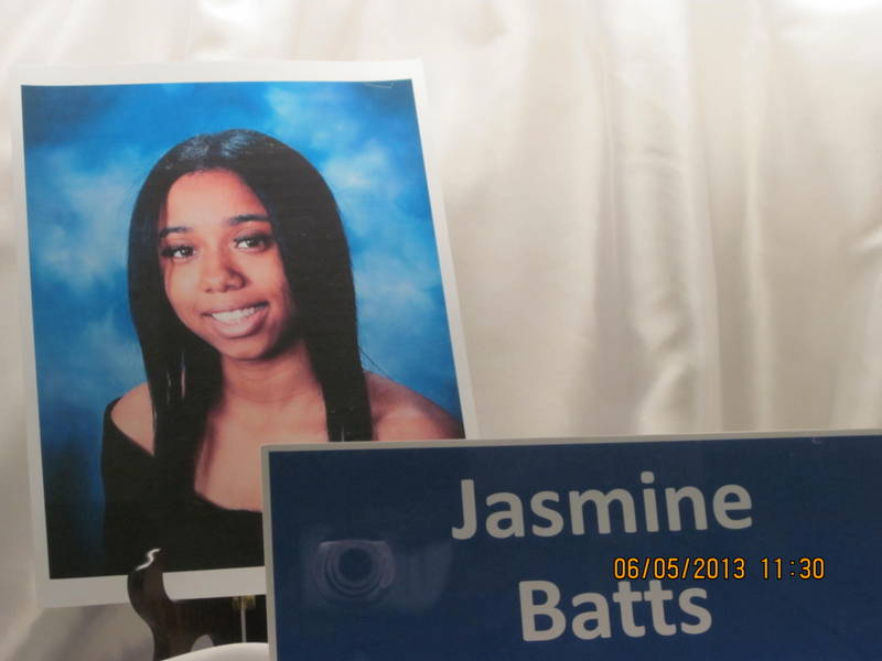 Jasmine Batts, Valedictorian