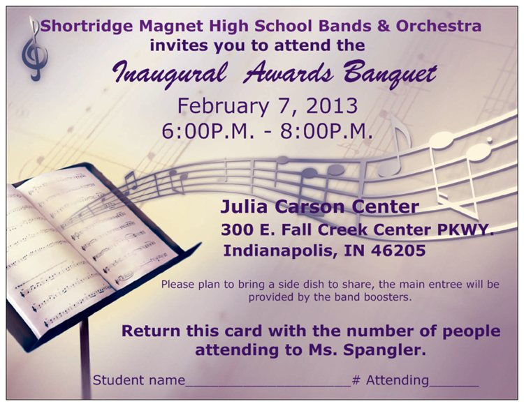 Music Awards Program