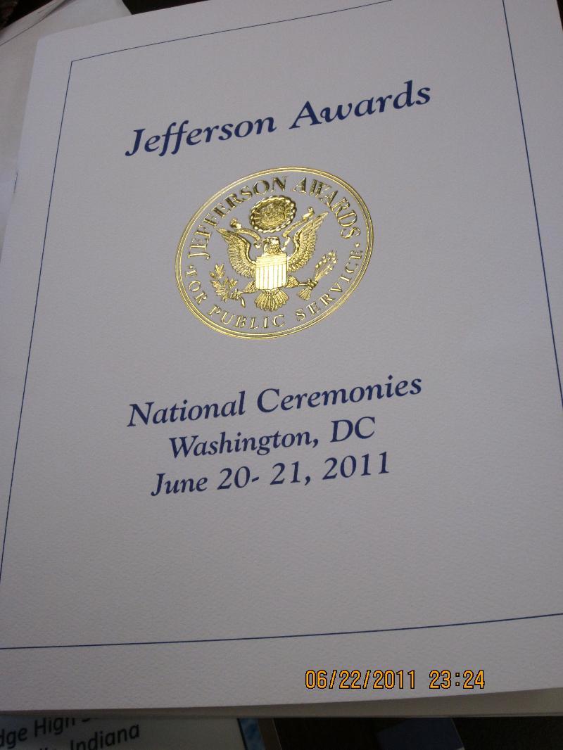 SIA Jefferson Award-Long