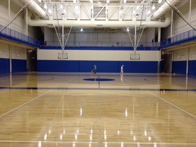 New Shortridge gym