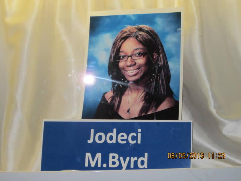 Jodeci Byrd, Salutatorian