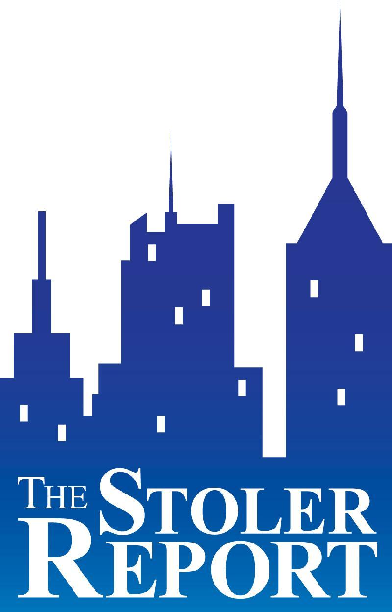 stoler report blue logo