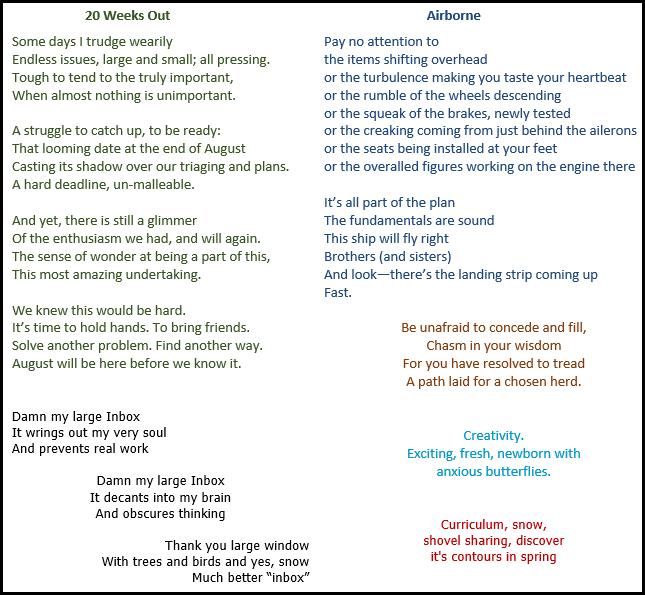 CHM poem examples