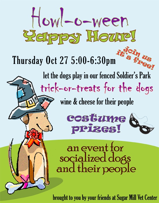 Howl-o-ween Yappy Hour