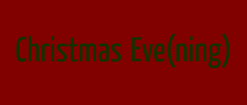 Christmas evening2