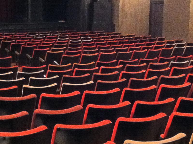 Seats behind