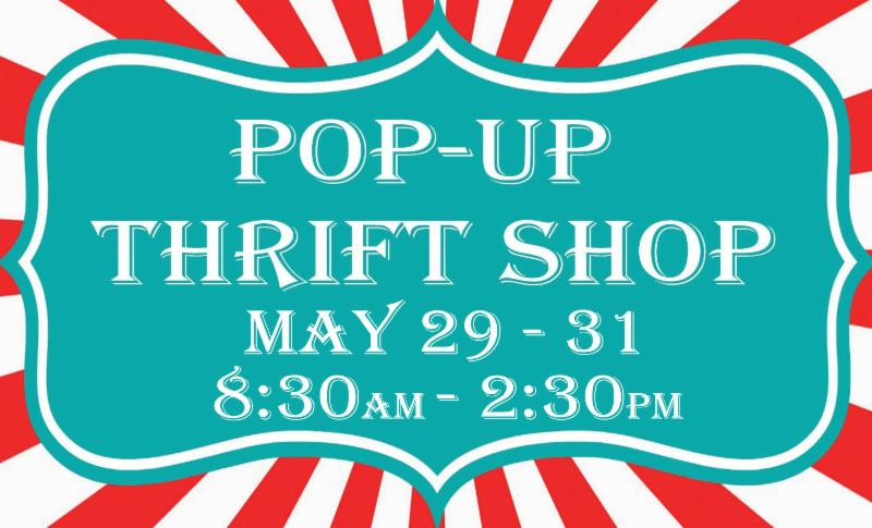 Union Street Gallery's Pop-Up Thrift  Shop May 29 - 31