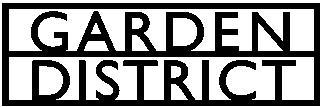 Garden District logo