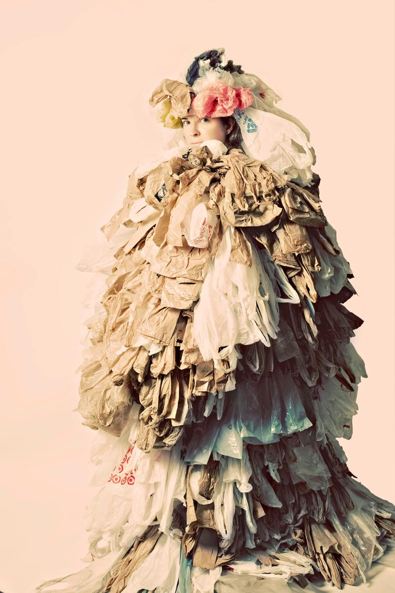 Shopping Bag Dress