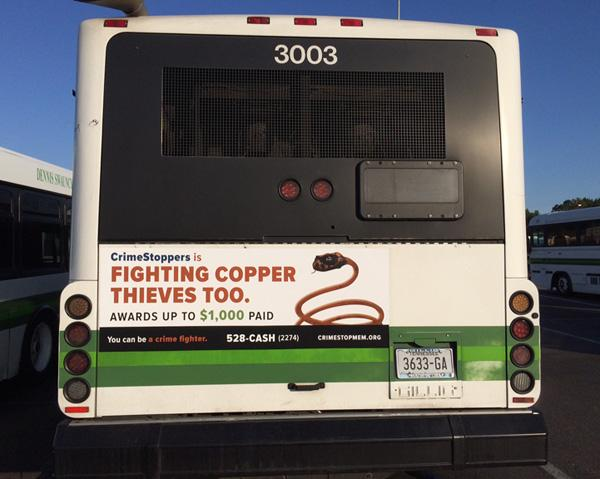 CopperStoppers bus tail ad