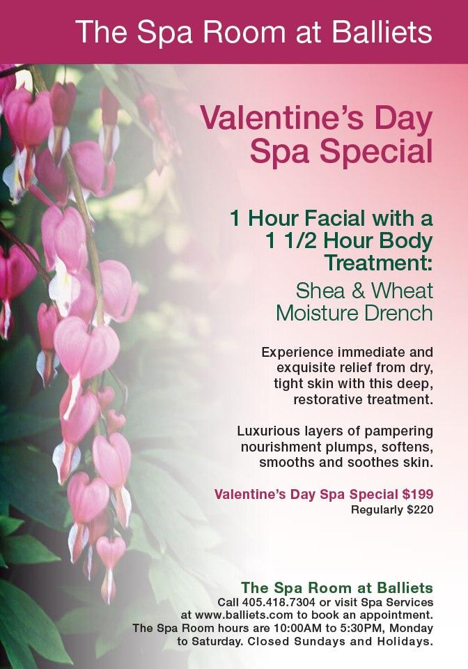 Valentine's Day Spa Special